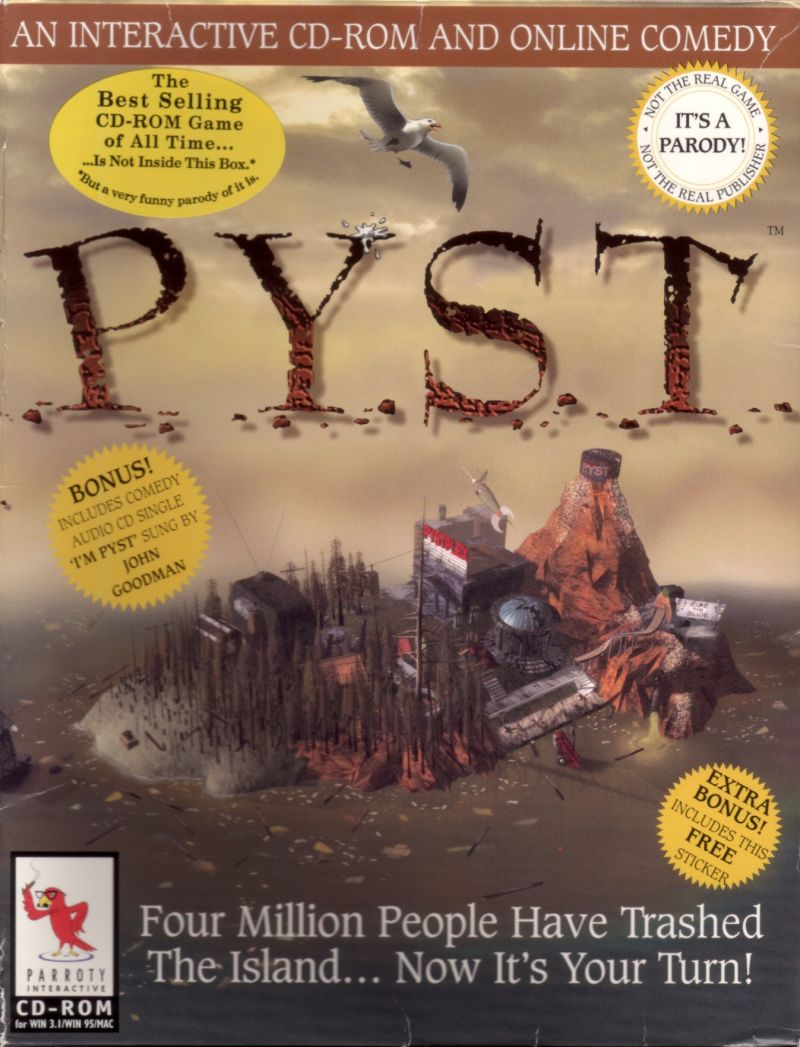 Pyst Macintosh Front Cover