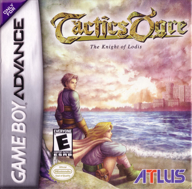 Tactics Ogre: The Knight of Lodis Game Boy Advance Front Cover