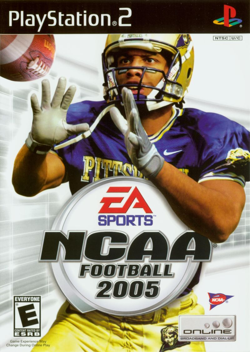 NCAA Football 2005 PlayStation 2 Front Cover