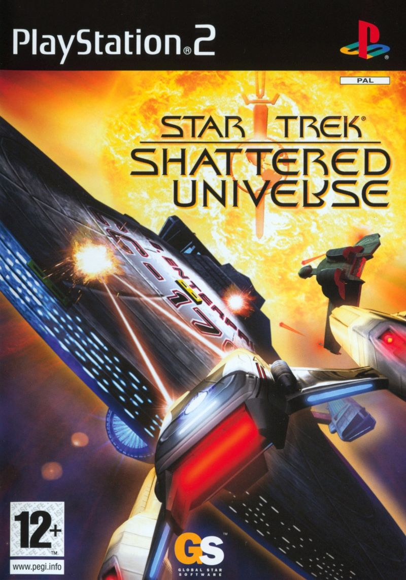 Star Trek: Shattered Universe PlayStation 2 Front Cover