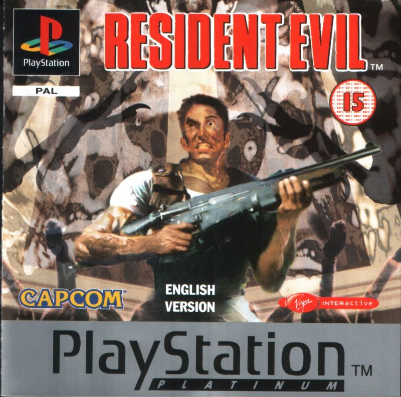 Resident Evil PlayStation Front Cover