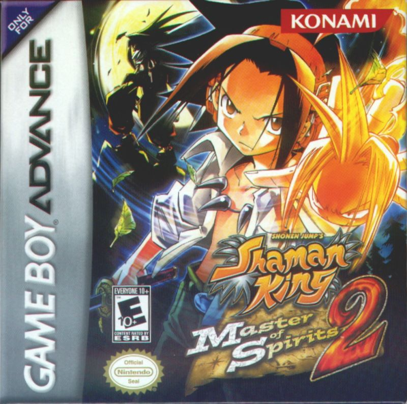Shaman King: Master of Spirits 2 Game Boy Advance Front Cover