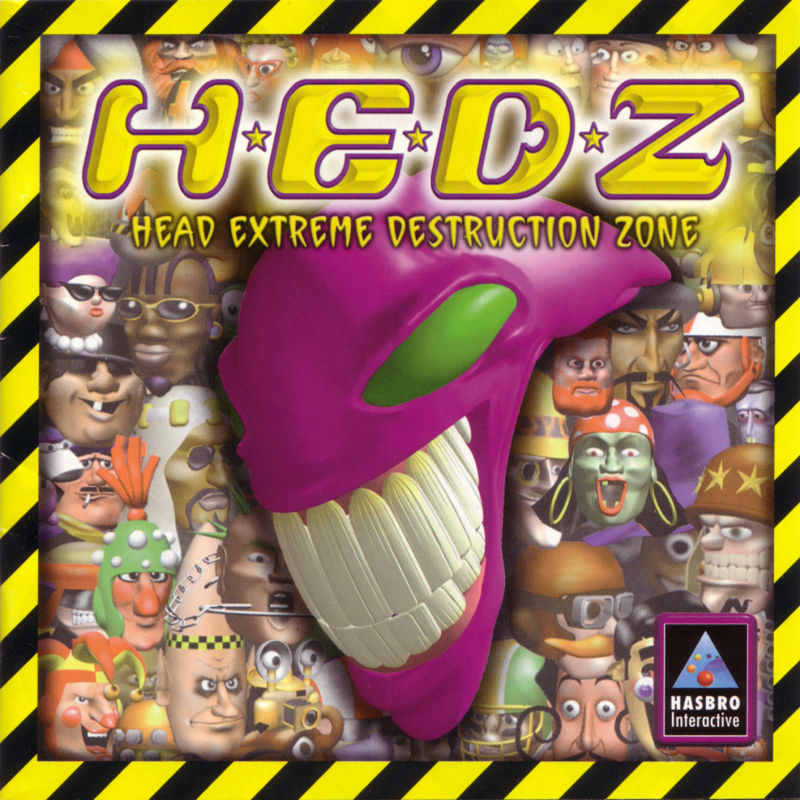 H.E.D.Z.: Head Extreme Destruction Zone Windows Other Jewel Case - Front