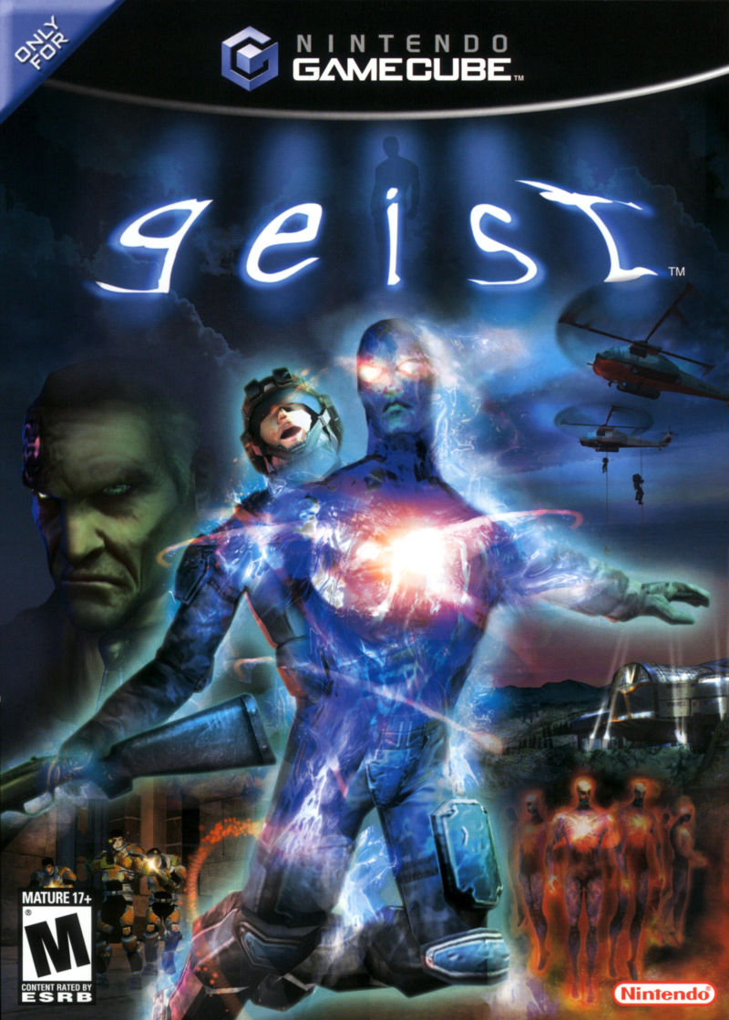 Geist GameCube Front Cover