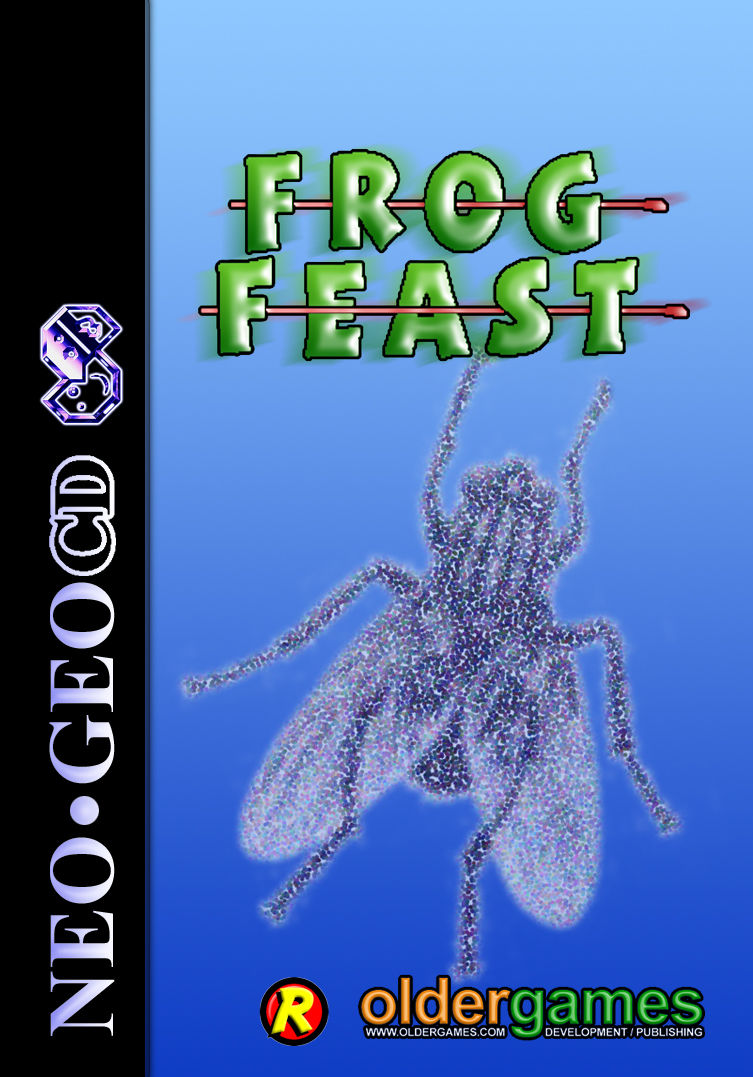 Frog Feast Neo Geo CD Front Cover