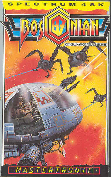Bosconian '87 ZX Spectrum Front Cover