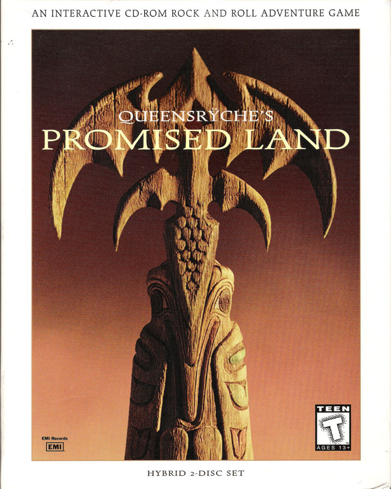 Queensrÿche's Promised Land Macintosh Front Cover