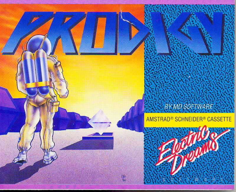 Prodigy Amstrad CPC Front Cover