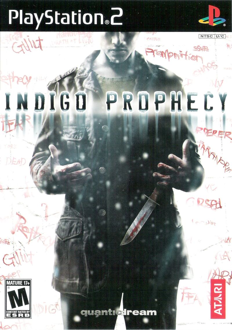 Indigo Prophecy PlayStation 2 Front Cover
