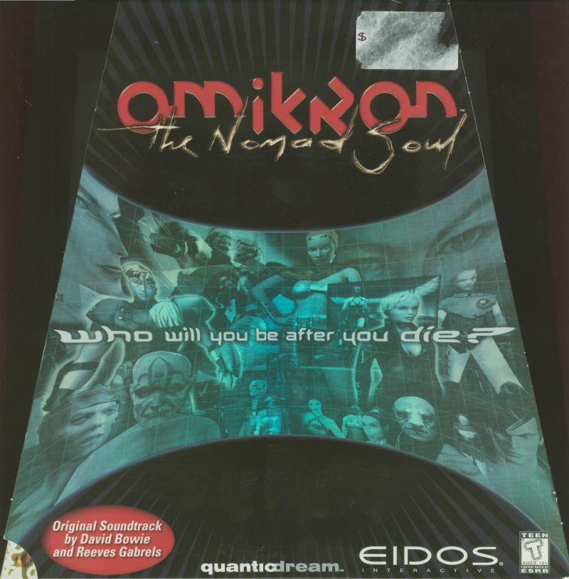 Omikron: The Nomad Soul Windows Front Cover