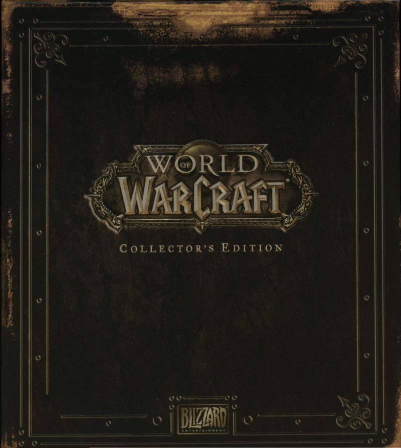 World of Warcraft (Collector's Edition) Windows Front Cover