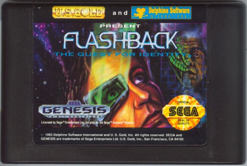 Flashback: The Quest for Identity Genesis Media