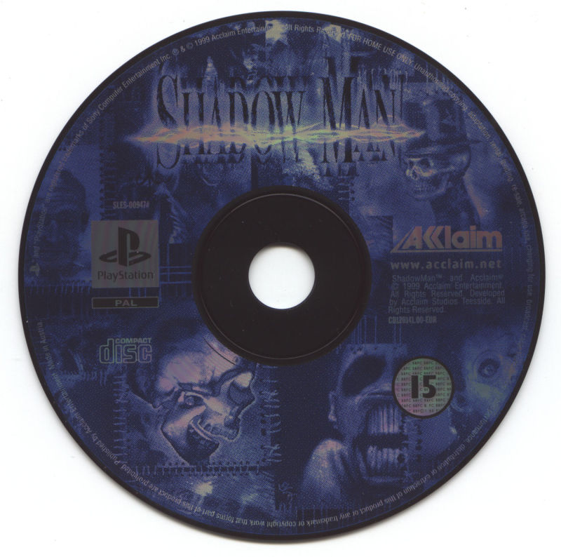 Shadow Man PlayStation Media
