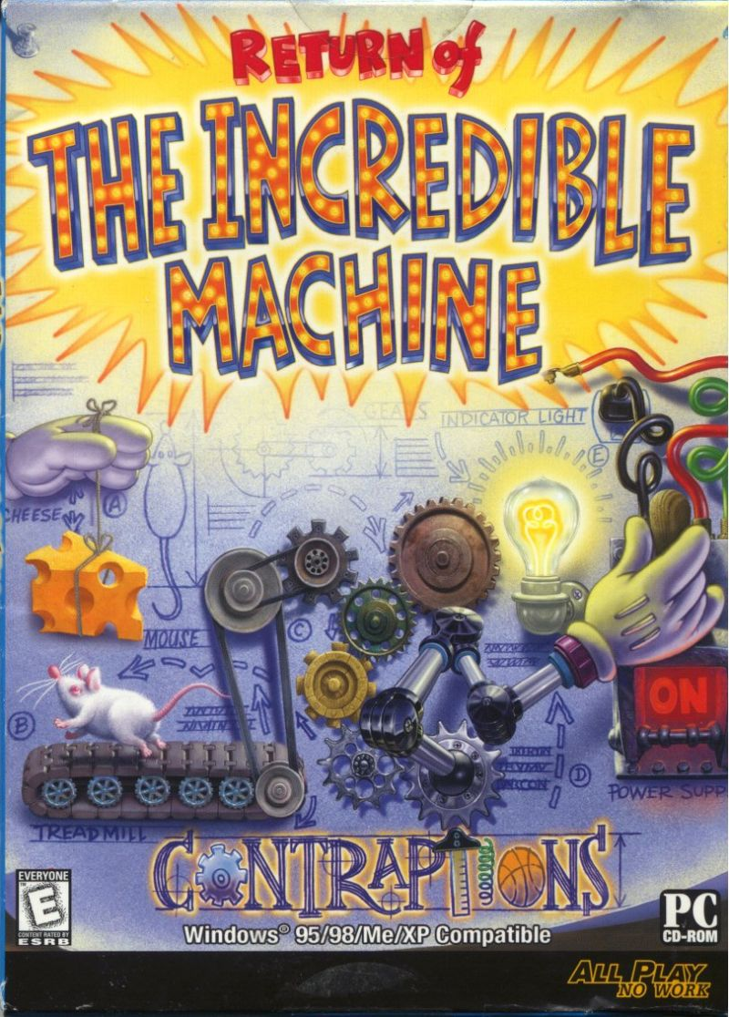 Return of the Incredible Machine: Contraptions Windows Front Cover
