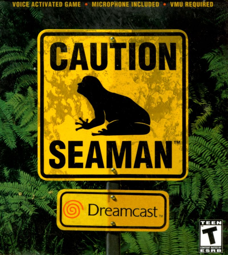 Seaman Dreamcast Front Cover
