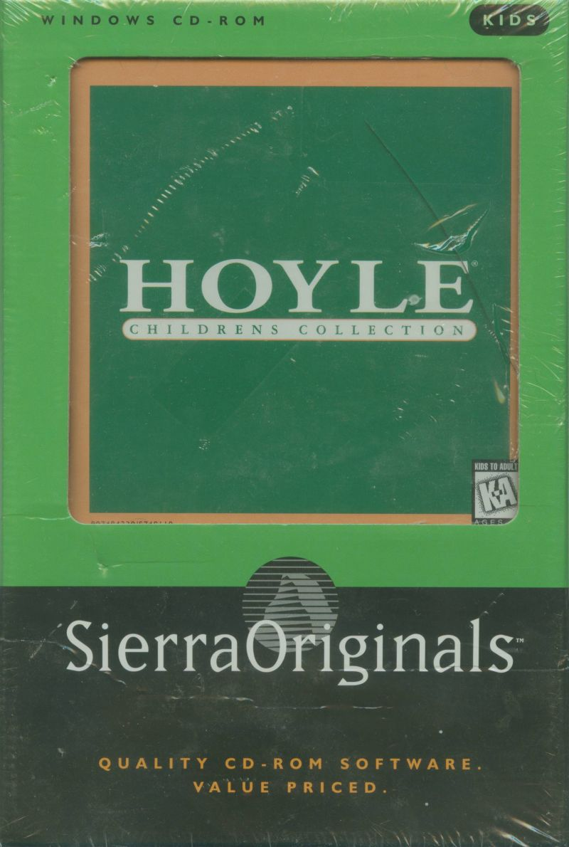 Hoyle Children's Collection Windows Front Cover