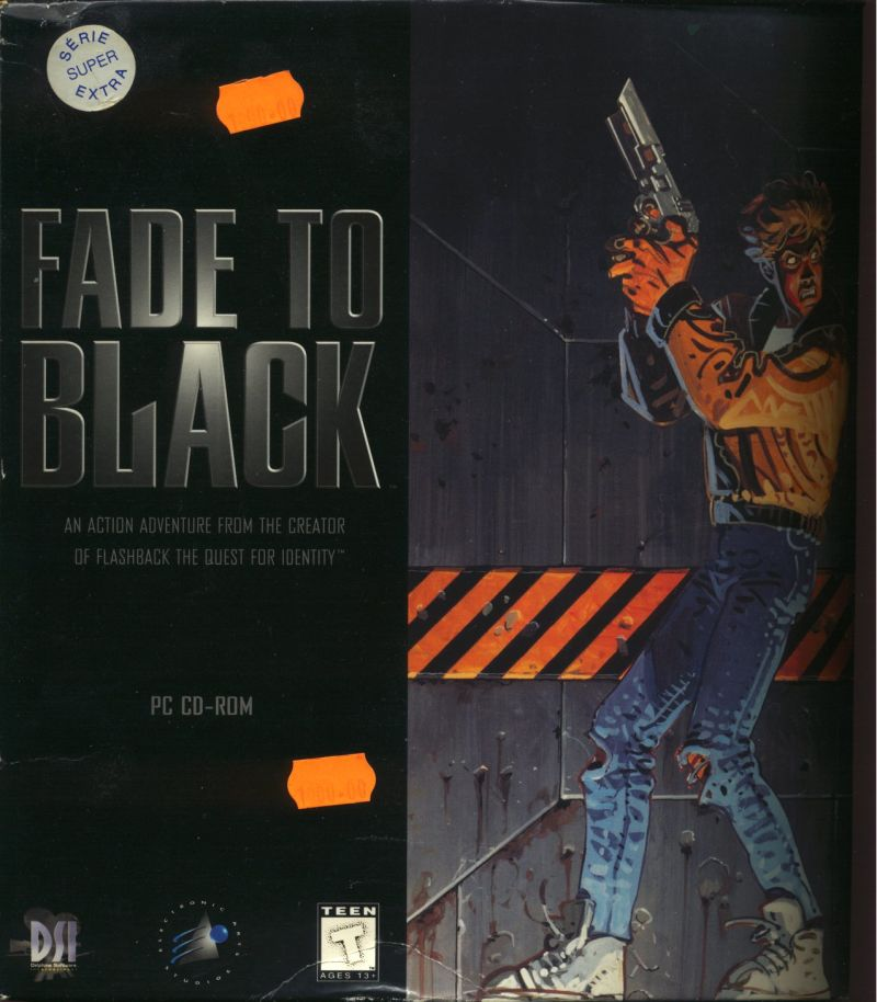 Fade to Black DOS Front Cover