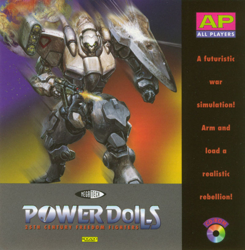 Power Dolls DOS Other Jewel Case - Front