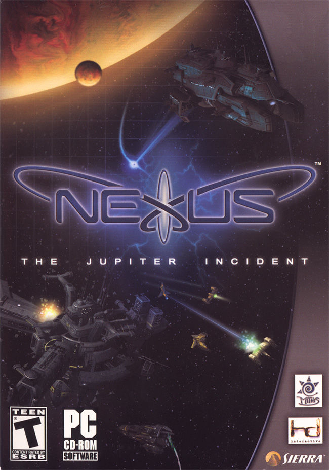 Nexus: The Jupiter Incident Windows Front Cover