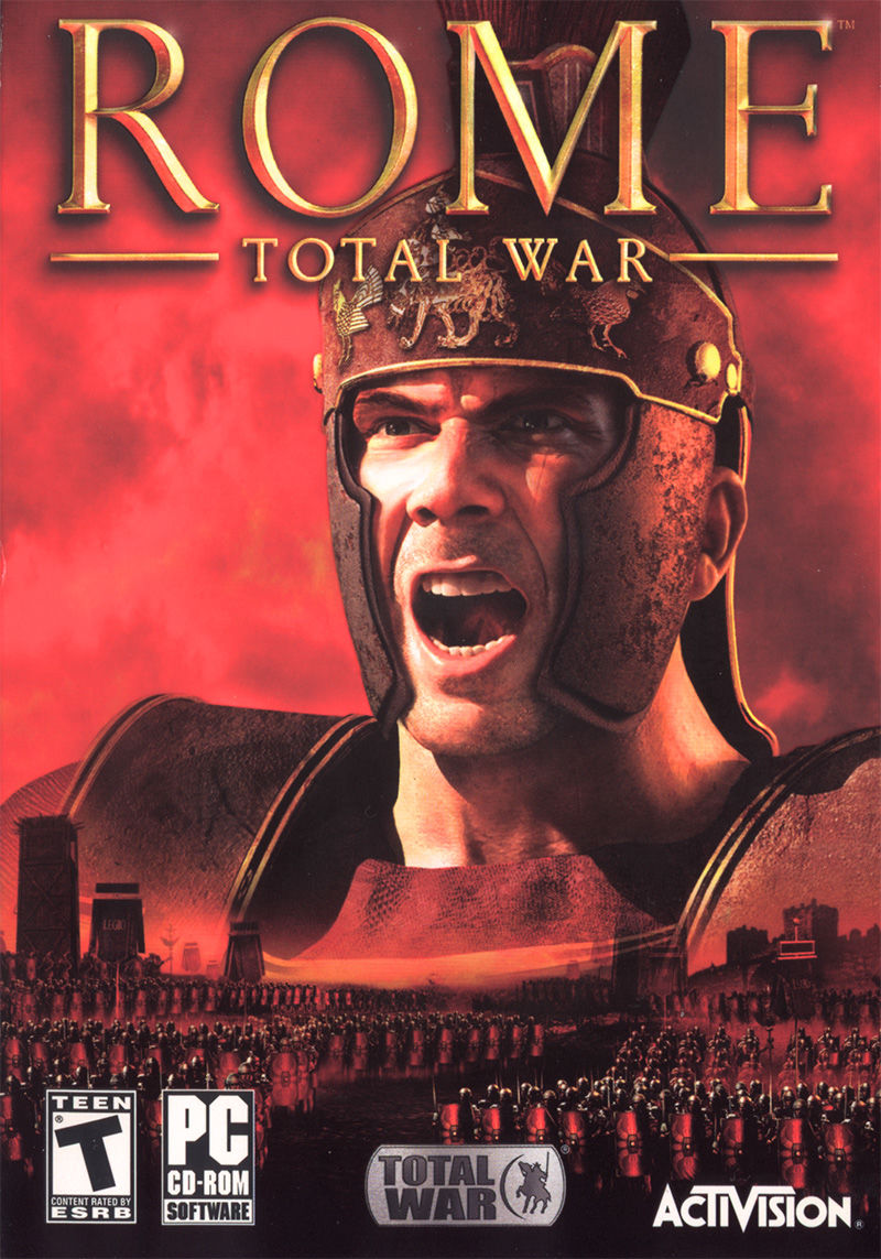 Rome: Total War Windows Front Cover