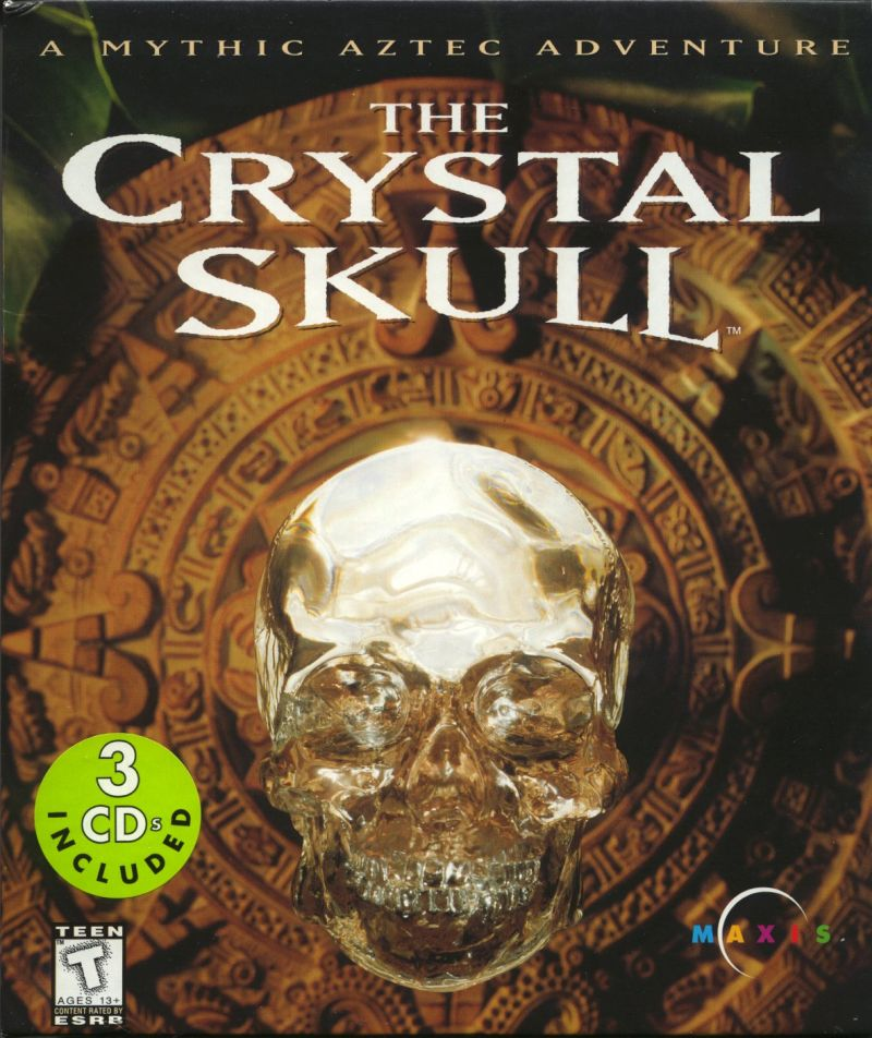 The Crystal Skull Macintosh Front Cover