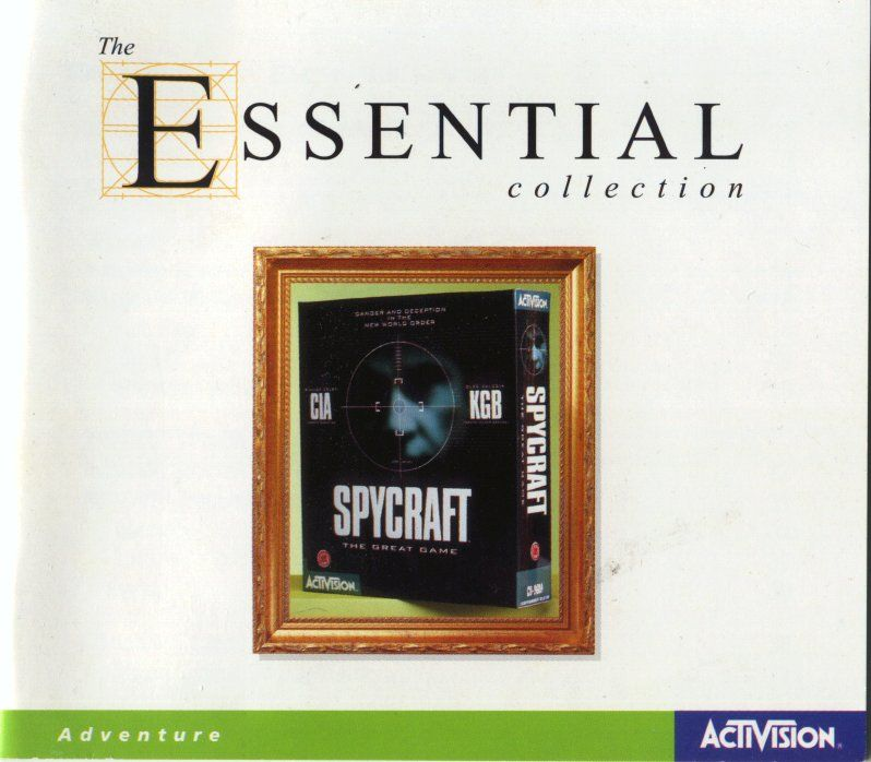 Spycraft: The Great Game DOS Other Jewel Case - Front