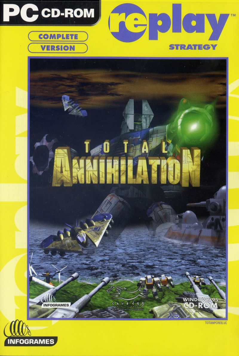 Total Annihilation Windows Front Cover