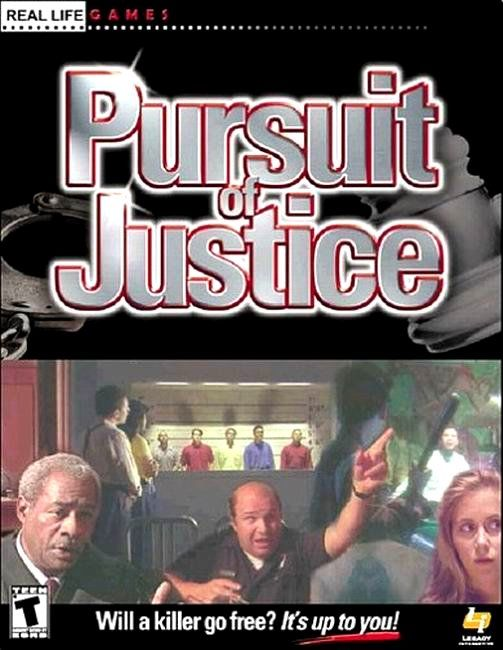 Pursuit of Justice Windows Front Cover