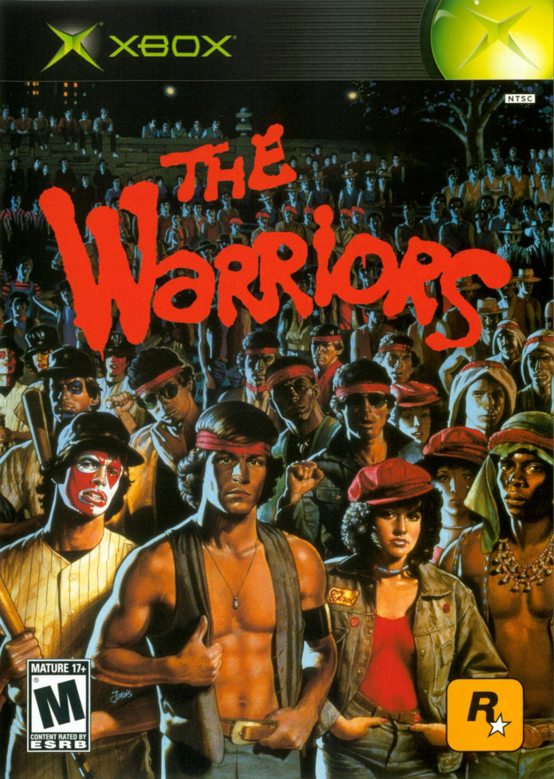The Warriors Xbox Front Cover
