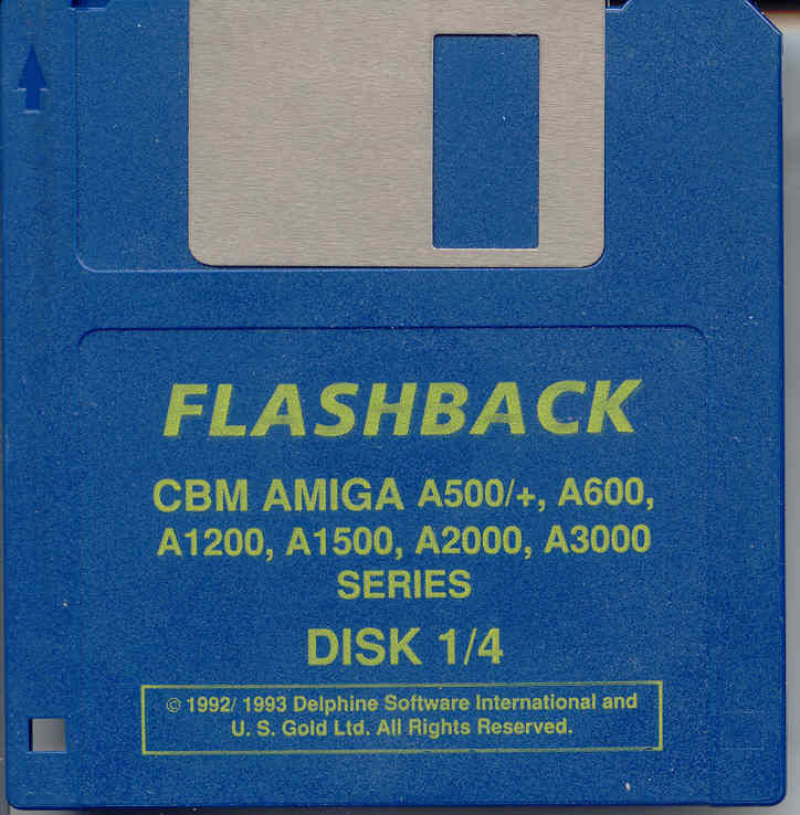 Flashback: The Quest for Identity Amiga Media Disk 1