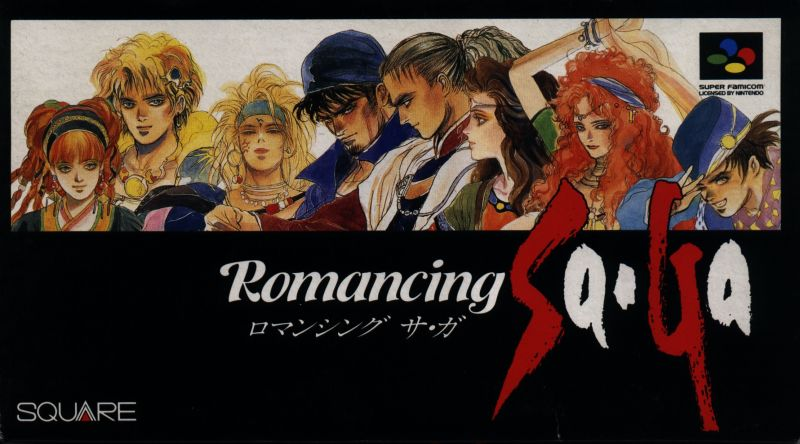 Romancing SaGa SNES Front Cover