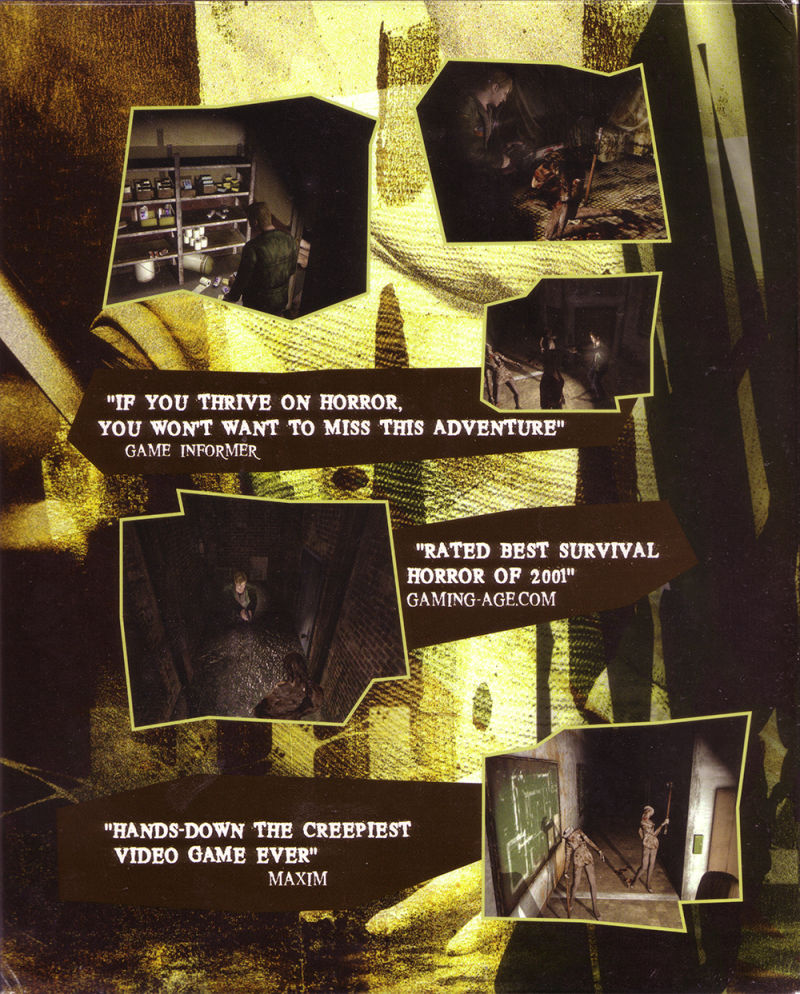 Silent Hill 2: Restless Dreams Windows Inside Cover Front flap right