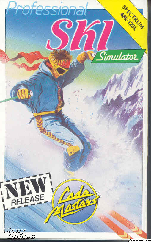 Professional Ski Simulator ZX Spectrum Front Cover