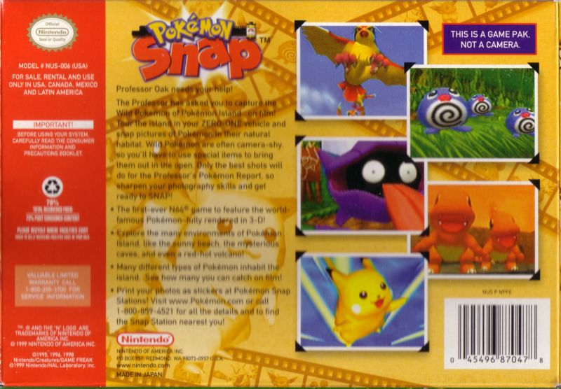 1Pokemon Snap Emulator
