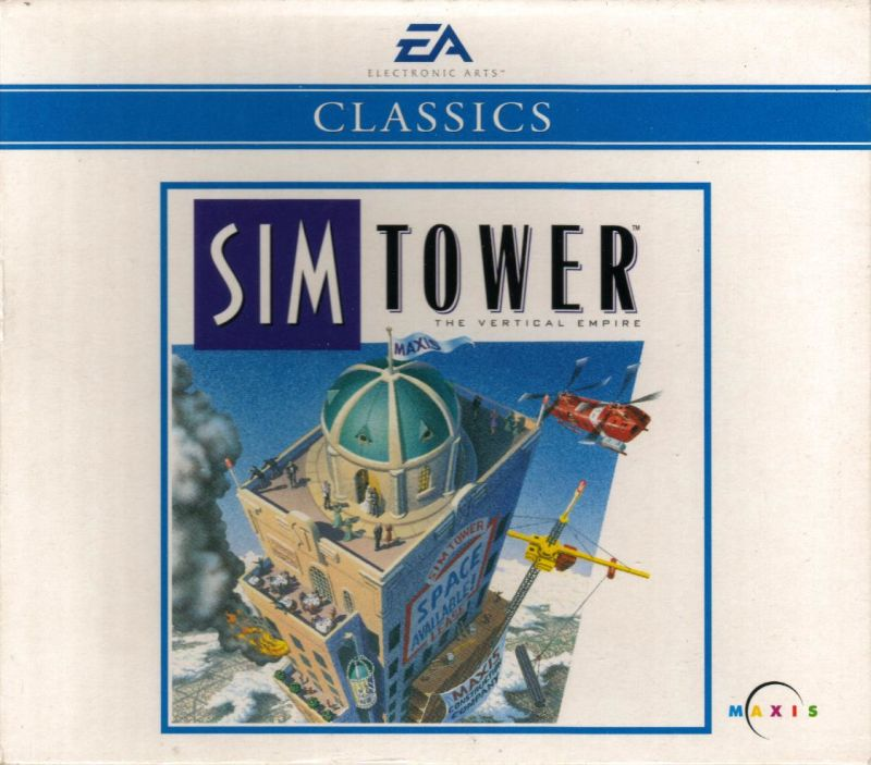 SimTower: The Vertical Empire Windows 3.x Front Cover