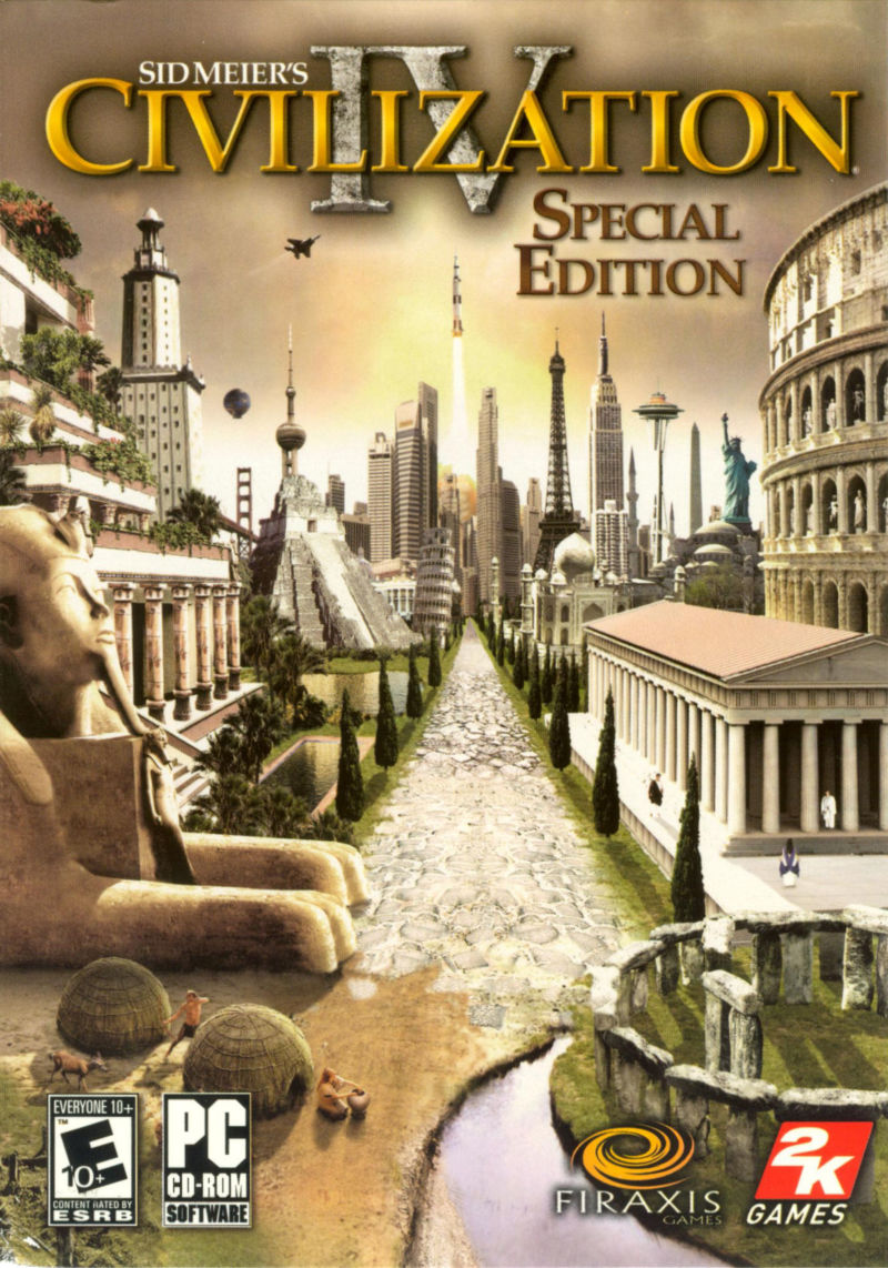 Sid Meier's Civilization IV (Special Edition) Windows Front Cover