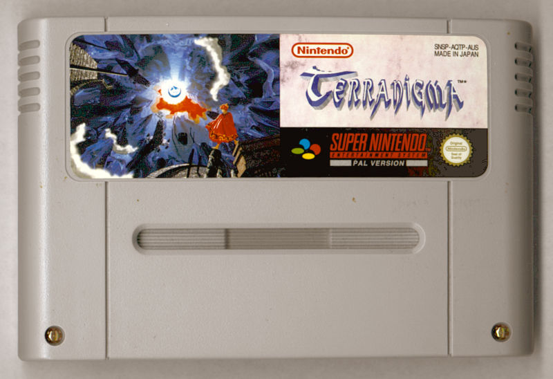 Terranigma SNES Media