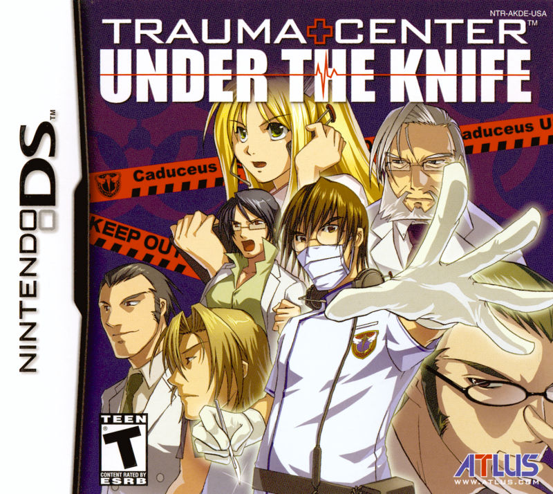 Trauma Center: Under the Knife Nintendo DS Front Cover