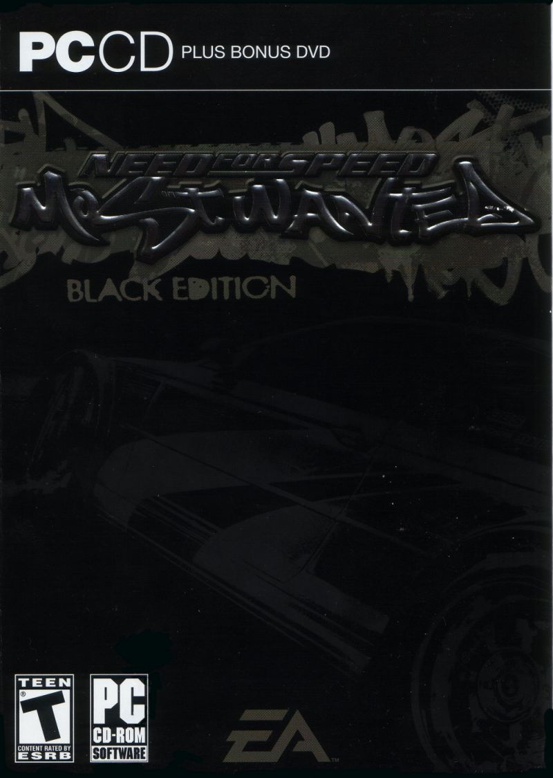 Need for Speed: Most Wanted (Black Edition) Windows Front Cover