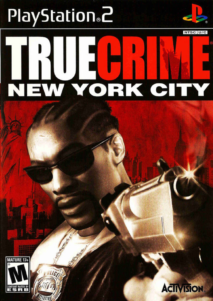 True Crime: New York City PlayStation 2 Front Cover