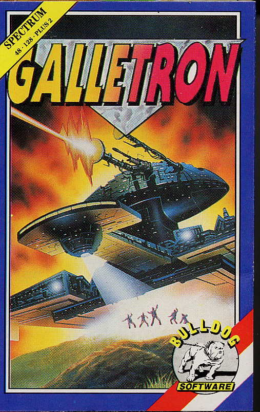 Galletron ZX Spectrum Front Cover