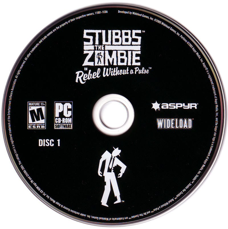 Stubbs the Zombie in Rebel Without a Pulse Windows Other Disc 1/3