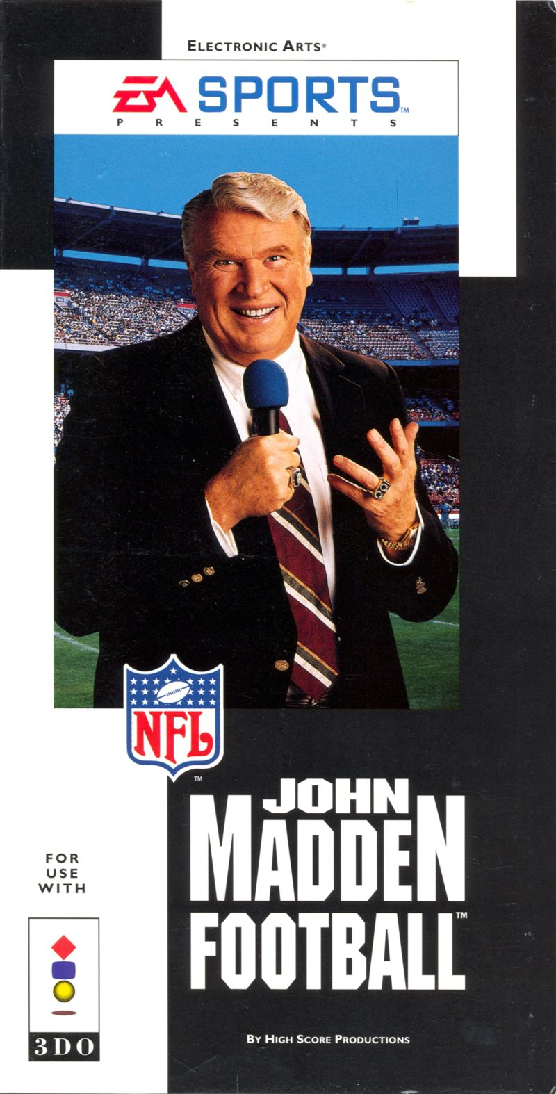 John Madden Football 3DO Front Cover