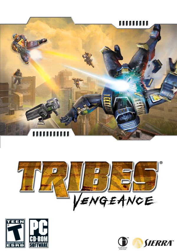 Tribes: Vengeance Windows Front Cover