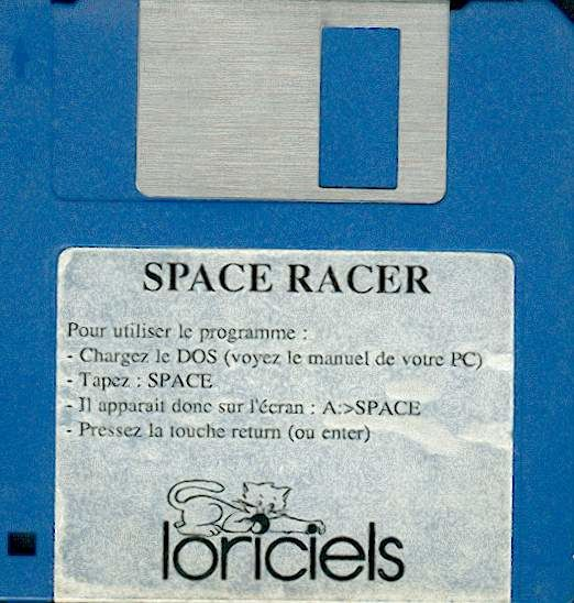 Space Racer DOS Media