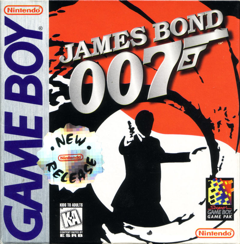 James Bond 007 Game Boy Front Cover