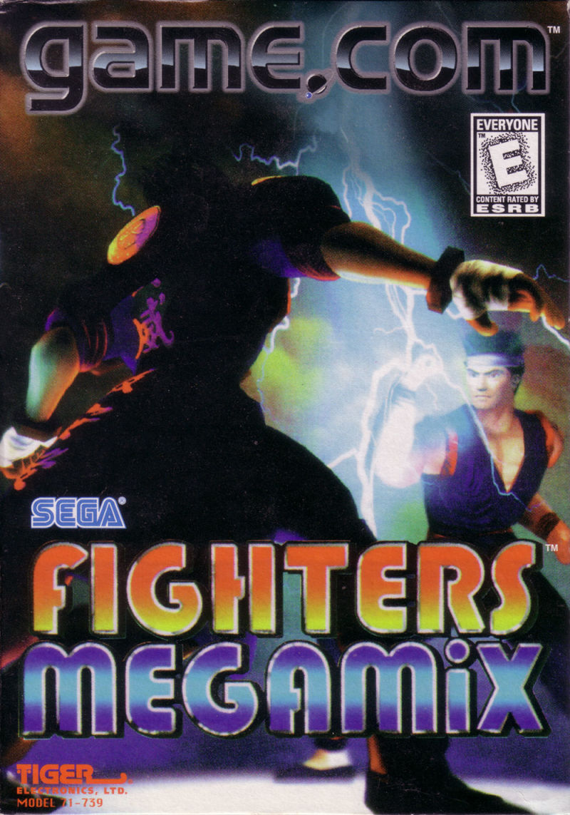 Fighters Megamix Game.Com Front Cover