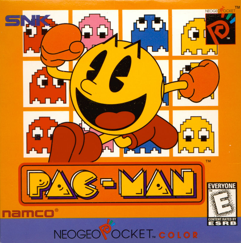 Pac-Man Neo Geo Pocket Color Front Cover