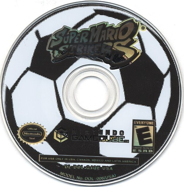 Super Mario Strikers GameCube Media