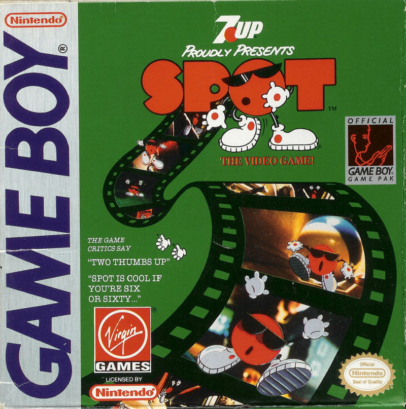 Spot Game Boy Front Cover